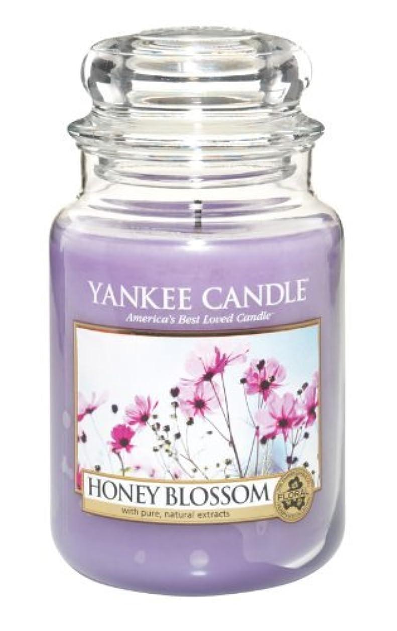 ドラマ分離コンチネンタルYankee Candle Honey Blossom 22-Ounce Jar Candle, Large by Yankee Candle [並行輸入品]
