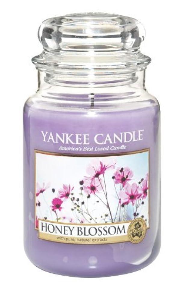 繁雑聖人懐Yankee Candle Honey Blossom 22-Ounce Jar Candle, Large by Yankee Candle [並行輸入品]