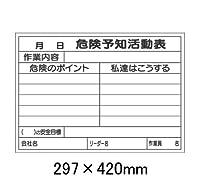 ビニール式KYボード 書き込み専用用紙 320-28