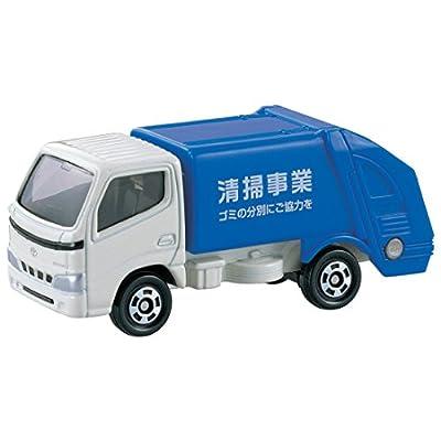 トミカ �045 トヨタ ダイナ 清掃車 (箱)