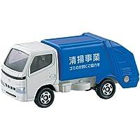 トミカ №045 トヨタ ダイナ 清掃車 (箱)