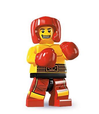 レゴ ミニフィギュア シリーズ5 SIDE B LEGO minifigures #8805 ボクサー ミニフィグブロック積み木
