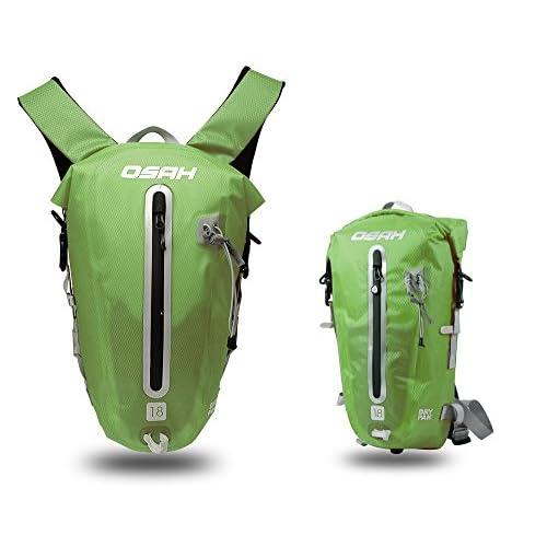 CYCLINGNET 防水(IPX6)パック DRY PAK バックパック ロードバイク 自転車 サイクリング用 (B14602-18L-GREEN)
