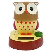 ソーラー電源Motion Toy–フクロウ–Solar Power Motionおもちゃ–Owl by Mandarin USA