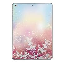 iPad Air2 スキンシール apple アップル アイパッド A1566 A1567 タブレット tablet シール ステッカー ケース 保護シール 背面 人気 単品 おしゃれ 雪 結晶 綺麗 012411
