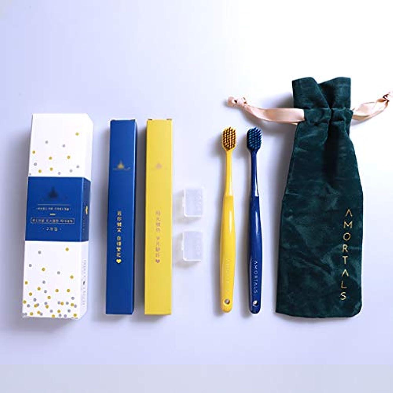 キャリア立方体ビジュアルガムの効率的な洗浄及び保護のための人間工学PBTブラシハンドル歯ブラシ