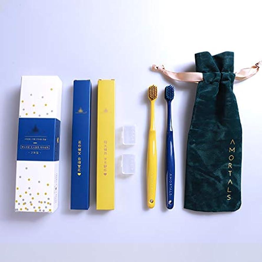ゆるい不運責任ガムの効率的な洗浄及び保護のための人間工学PBTブラシハンドル歯ブラシ