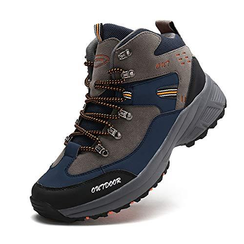 c3c8110bdf2739 [RDGO] メンズ ハイキングシューズ トレッキングブーツ 登山靴 アウトドアシューズ 防滑 牛革 ローカット ウォーキング