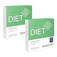 GeneLife DIET 肥満遺伝子検査キット(Web版) 2個セット