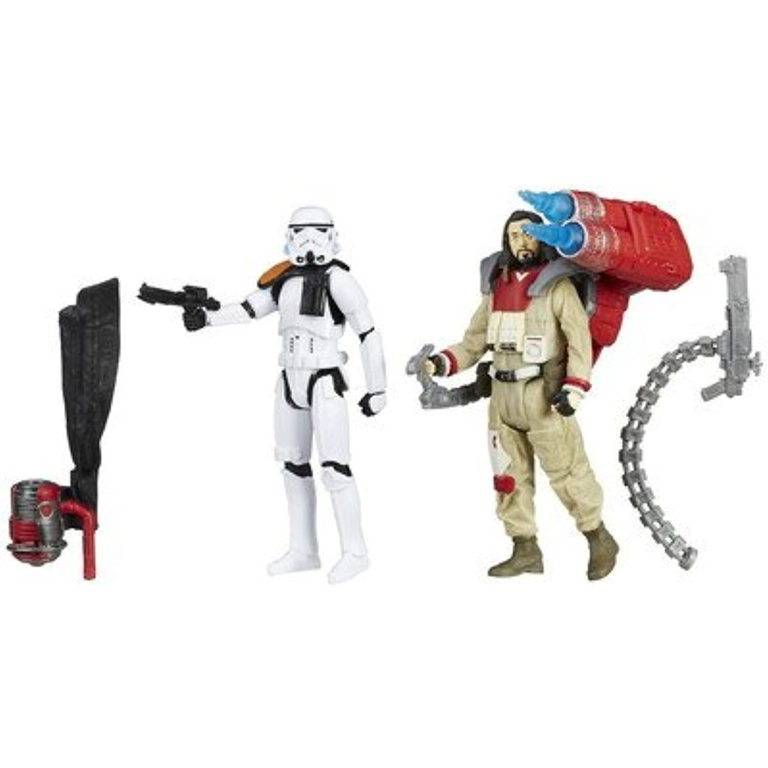 Star Wars(スターウォーズ) Star Wars Rogue One Baze Malbus VS. Imperial Stormtrooper おもちゃ One Size【並行輸入】