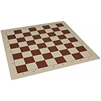 Club Vinyl Rollup Chess Board Brown & Buff - 2.375 Squares by The Chess Store [並行輸入品]