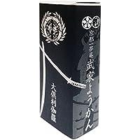 京都一夢庵 刀剣武家ようかん 大倶利伽羅 初代パッケージ 栗 55gx1本