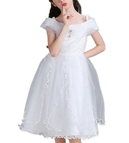 479b3f9b7133f Candykids 子供ドレス 子どもドレス ワンピース お嬢様 ドレス フォーマル ピアノ 発表会 結婚式 入園式 演奏会 プリンセスドレス 女の子  女児 ガールズ 結婚式 学.