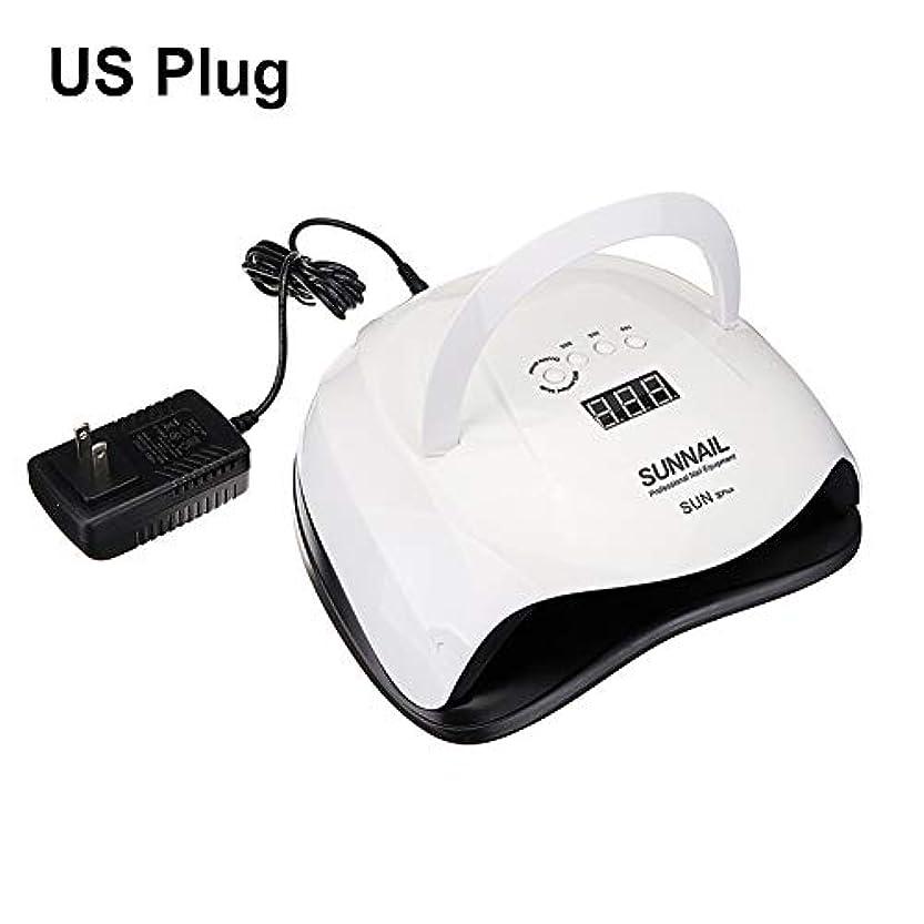 グレファイディンマニキュアランプネイルマシンSUN XPlus 80W液晶ディスプレイタイミングUV LEDジェルネイルドライヤー硬化マニキュアランプ - *EUプラグ