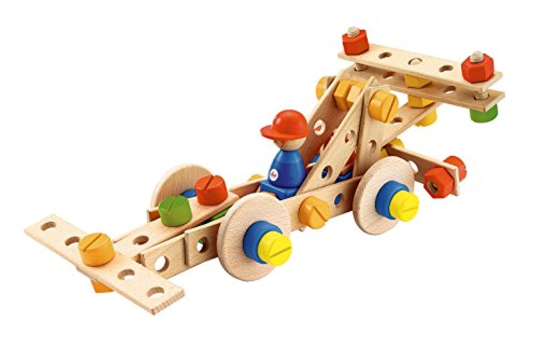 Sevi(セヴィ) 木製組み立てキット68(F1カー)/Construction Kit F1car 82084 【日本正規品】 輸入食品検査済品
