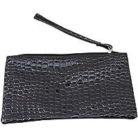 LALANG Simple Stone Pattern Ladies Mobile Phone Key Bag Wallet Portable Handbag