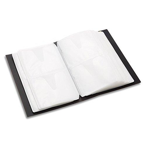 BUFFALO CD&DVDファイルケース ブックタイプ 120枚収納 ブラック BSCD01F120BK
