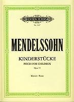 MENDELSSOHN - Piezas para Nis Op.72 para Piano (Ruthardt)
