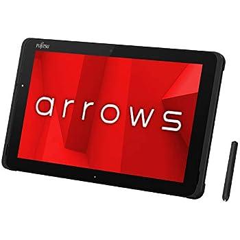 富士通 タブレット arrows Tab QHシリーズ WQ2/D1 (Windows 10 Pro/10.1型ワイド液晶/Celeron/4GBメモリ/約64GB フラッシュメモリ/Officeなし/ブラック)AZ_WQ2D1_Z001/富士通WEB MART専用モデル