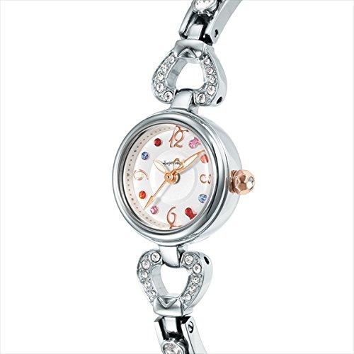 (エンジェルハート) Angel Heart エンジェルハート 時計 レディース ANGEL HEART PH19SWSV-01 ピンキーハート 腕時計 ウォッチ シルバー/ホワイトパール[並行輸入品]