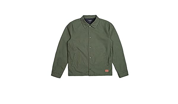 b19b63c9fc3 Amazon | (ブリクストン) BRIXTON WRIGHT JACKET FOREST GREEN [S] | コート・ジャケット 通販
