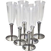 パール金属 シャンパン カップ 6個セット 使い捨て 軽量 185ml リトルリッチ D-305