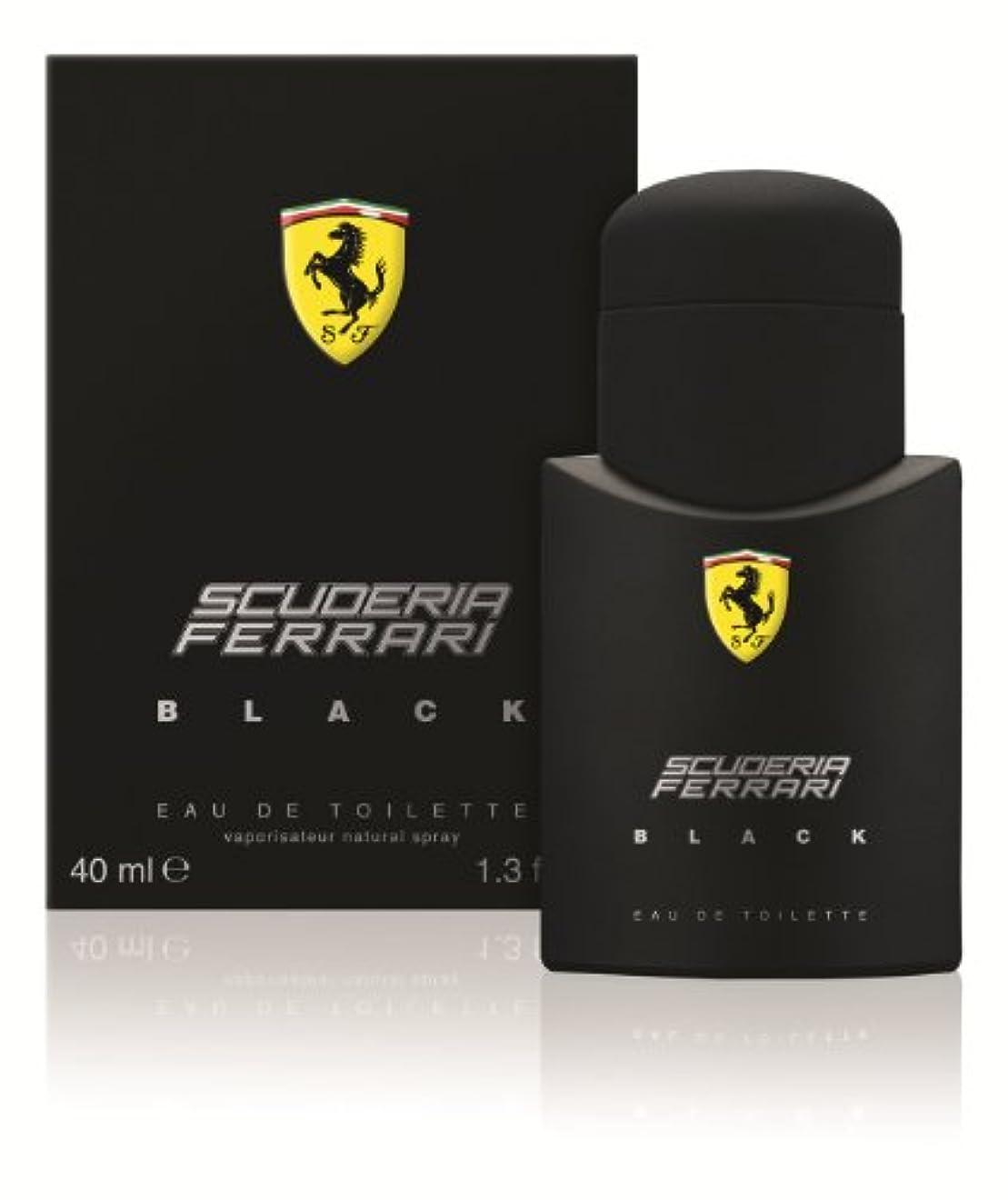 遵守する光沢のあるコンピューターフェラーリ  フェラーリ ブラック  40ml(111227101)