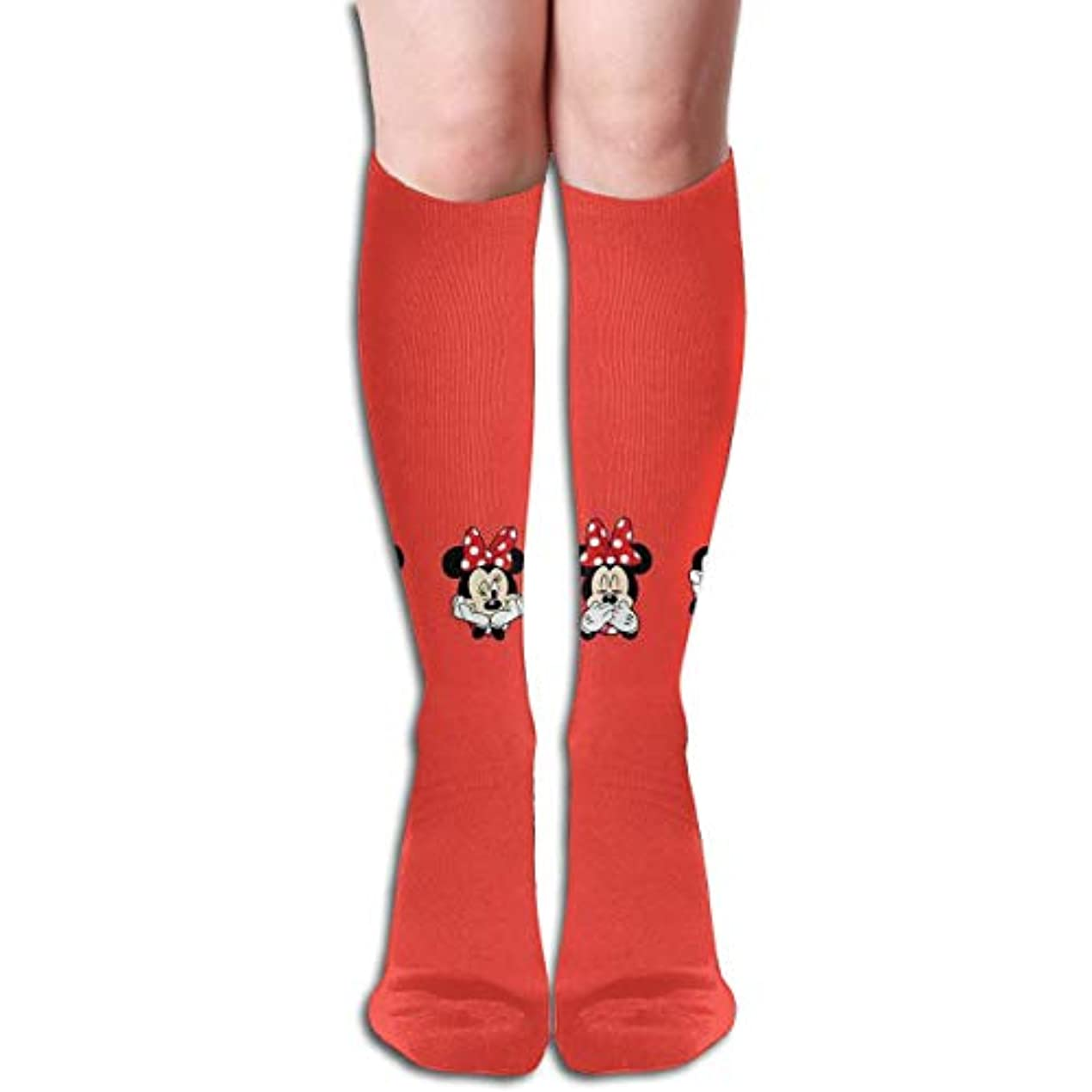 さわやか航空機と遊ぶクリーかわいいミニーチューブストッキングレディース冬暖かい膝ハイソックスブーツ靴下