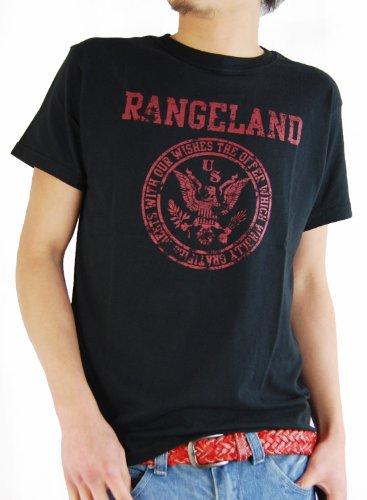 ARCADE(アーケード) 25color アメカジ ロゴプリント Tシャツ メンズ E柄ブラック L
