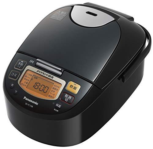 パナソニック 炊飯器 5.5合 IH式 ステンレスブラック SR-FC108-K