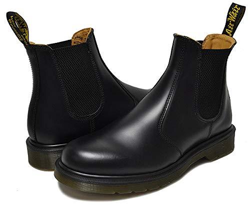[ドクターマーチン] 11853001 サイドゴア チェルシーブーツ Dr.Martens 2976 CHELSEA BOOT BLACK SMOOTH マーチン ブラック サイドゴア ブーツ メンズ レディース 27.0(UK8/US9) [並行輸入品]