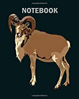 Notebook: urial - 50 sheets, 100 pages - 8 x 10 inches