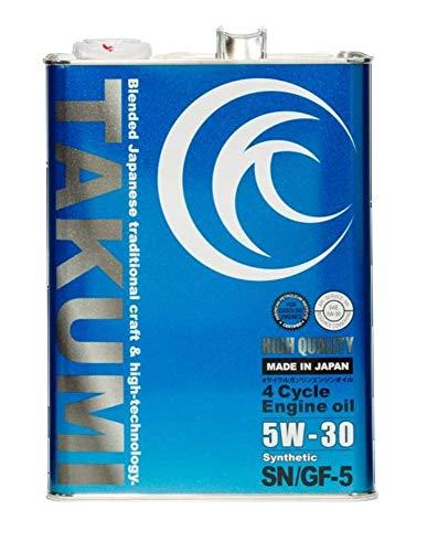 TAKUMIモーターオイル (AKTJAPAN) エンジンオイル  HQ0530-00401 5W-30 B00DRR7VO6 1枚目