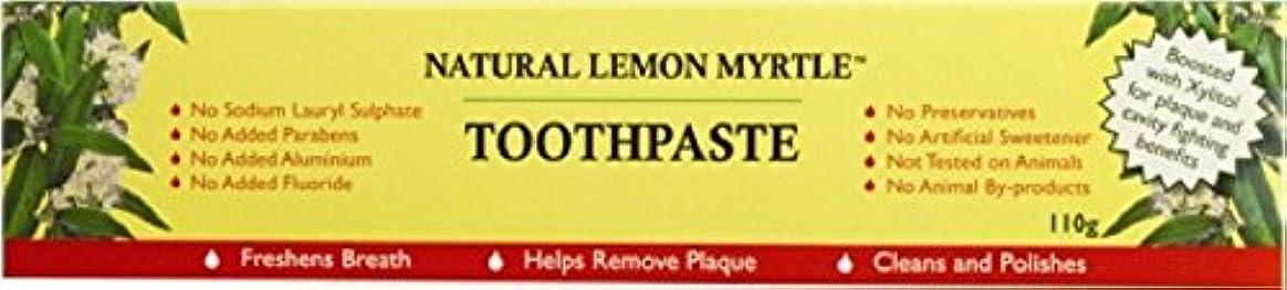 適合エンディング合意【LEMON MYRTLE FRAGRANCES】Toothpaste レモンマートルフレグランス トゥースペースト 110g 3個セット