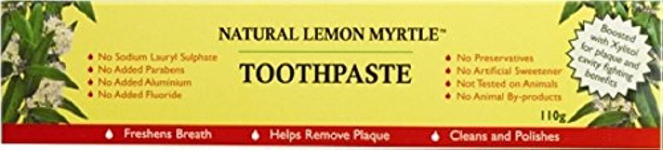 完璧なセンチメンタルランドリー【LEMON MYRTLE FRAGRANCES】Toothpaste レモンマートルフレグランス トゥースペースト 110g 6個セット
