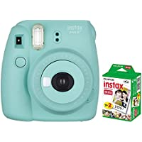 FUJIFILM インスタントカメラ instax mini 8+(プラス) ミント&フイルム20枚セット