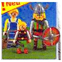7717 袋入りプレイモービル playmobil ヴァイキングの家族 (オリオン・コーポレーション)