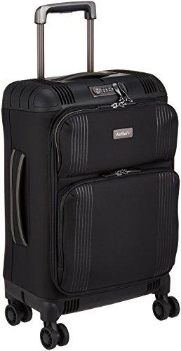 [アントラー] TITUS ソフトスーツケース タイタス 30L 軽量 小型 機内持ち込み 一泊 10年保証 双輪キャスター USBコネクタ 機内持込可 保証付 30.0L 55cm 2.3kg ATIS-50 ブラック ブラック