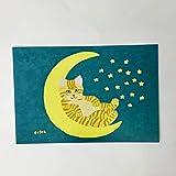 猫の足あと ポストカード「政五郎」
