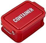 オーエスケー 弁当箱 レッド 容量:約450ml ランチチャイム コンテナ ランチボックス S CNT-450