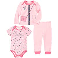 Nautica Baby Girls 3 Pieces Pants Set