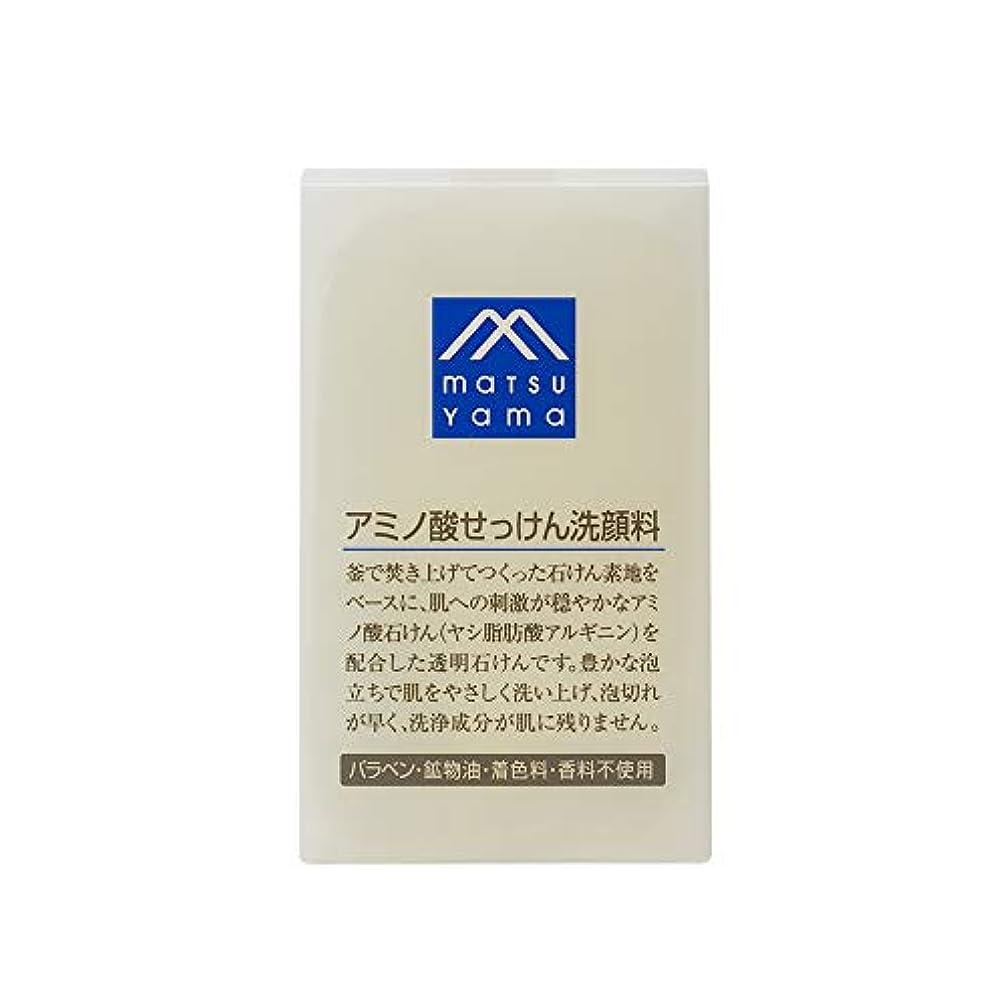 ボイコット責める疲れたMマーク(M-mark) アミノ酸せっけん洗顔料 90g