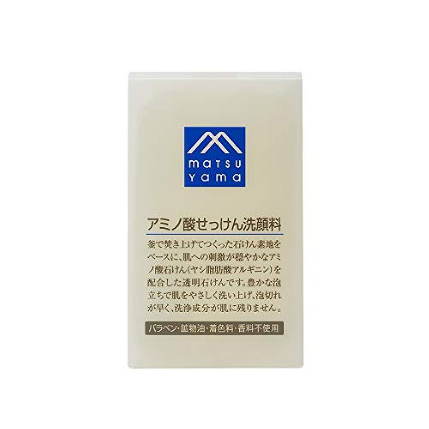 恐れ水没第Mマーク(M-mark) アミノ酸せっけん洗顔料 90g