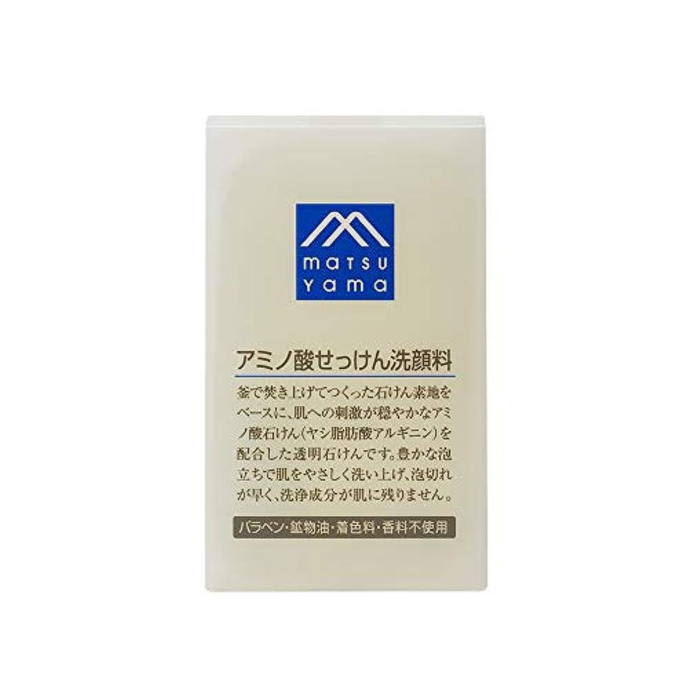 硬さ放射能難破船Mマーク(M-mark) アミノ酸せっけん洗顔料 90g