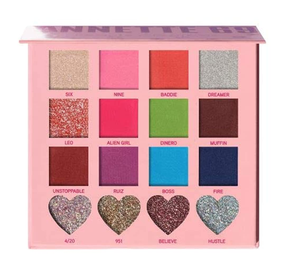 アフリカひばりフォルダ(6 Pack) BEAUTY CREATIONS x Annette 69 Eyeshadow Palette (並行輸入品)