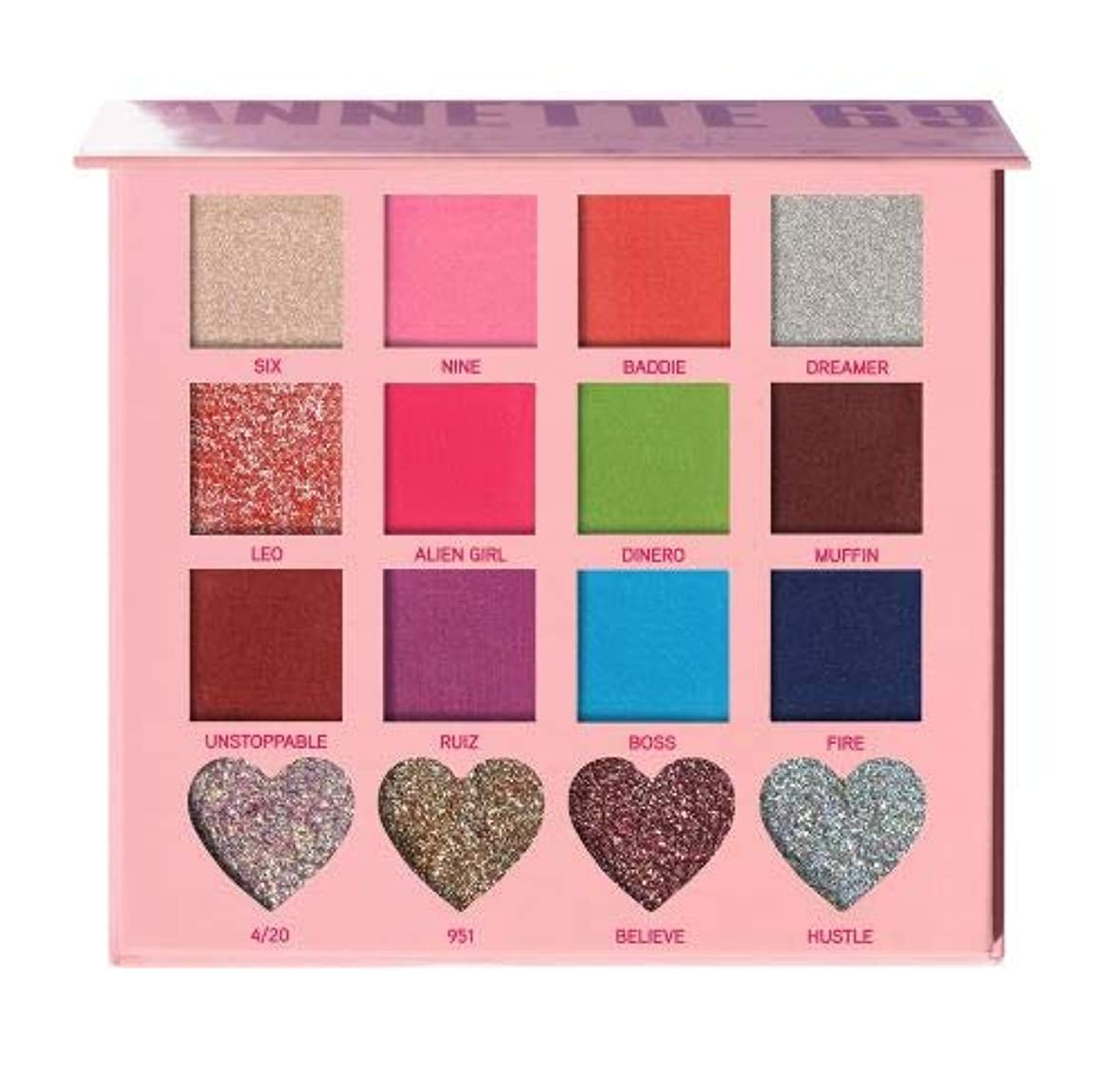 小さな宣言する視聴者(6 Pack) BEAUTY CREATIONS x Annette 69 Eyeshadow Palette (並行輸入品)