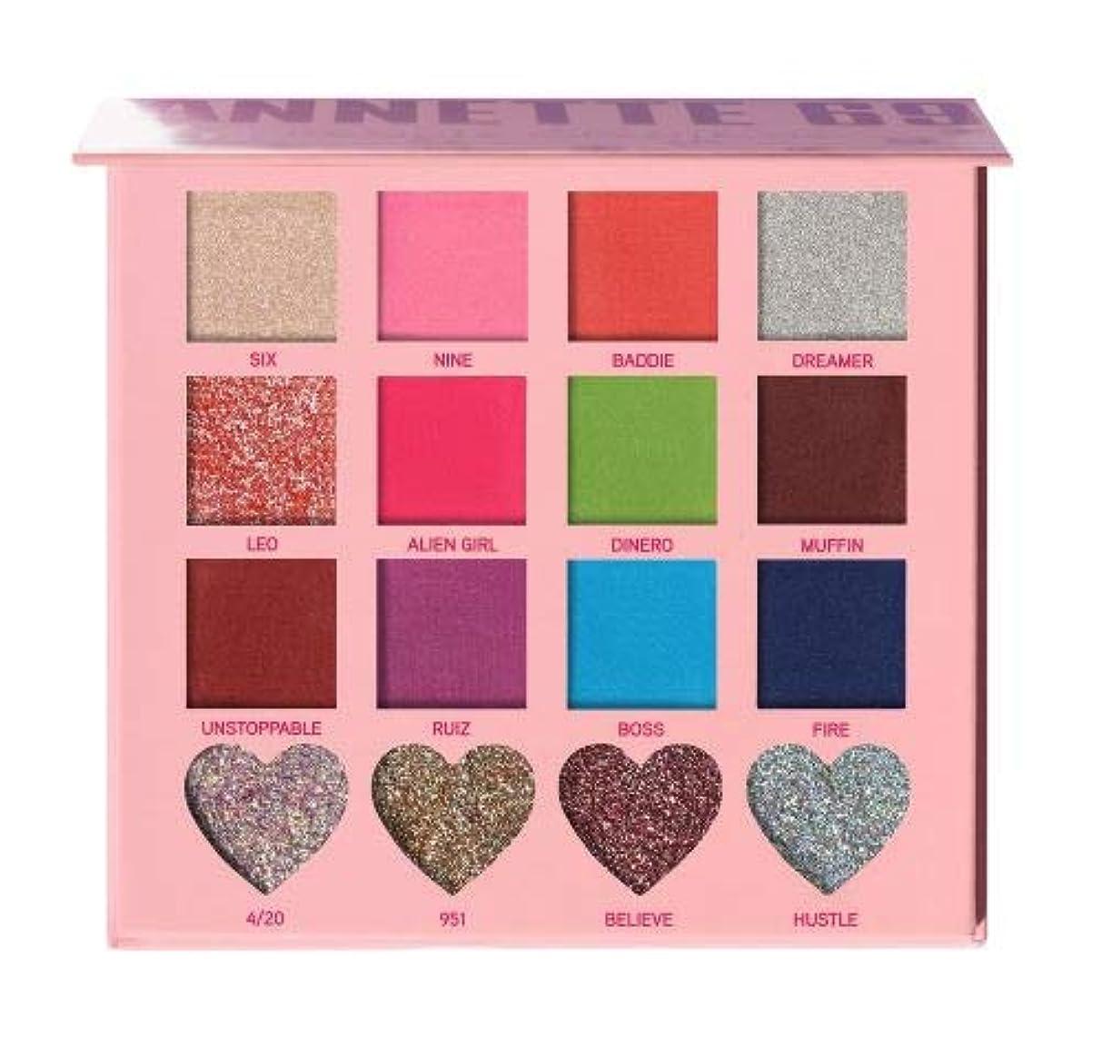 論理キュービック埋め込む(3 Pack) BEAUTY CREATIONS x Annette 69 Eyeshadow Palette (並行輸入品)