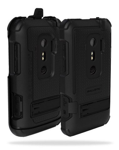 [Ballistic Case正規品] New! Ballistic HC Series Case for HTC EVO 3D Black / Black au ISW12HT バリスティック ケース ブラック / ブラック