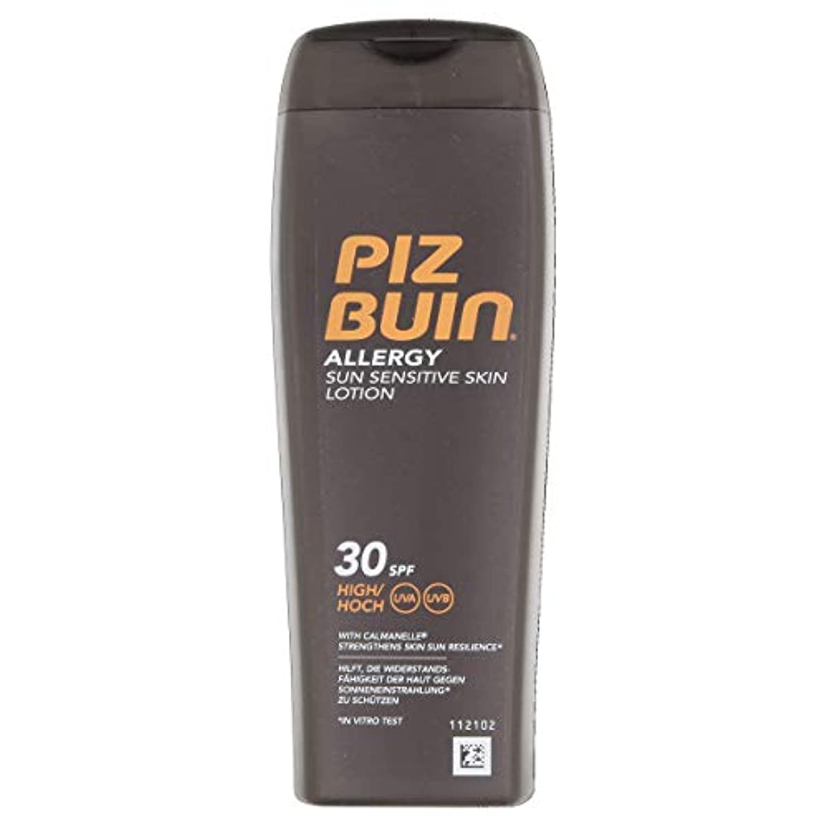 模索と闘うパットPiz Buin Allergy Lotion SPF 30 High 200ml