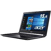 【Amazon.co.jp 限定】Acer 笔记本电脑 Core i5-8300H/8GB/128GB SSD+1TB HDD/GTX1050Ti/无光驱/15.6英寸/Windows 10/黑色/A715-72G-F58H